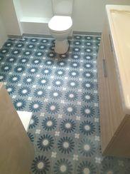 Perfect Cérame - Concept salle de bain clé en main - Carrelage imitation carreau ciment