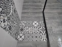 Perfect Cérame - Guenrouet - Concept salle de bain - Décor carreau ciment