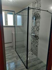 Perfect Cérame - Guenrouet - Concept salle de bain - Paroi verrière