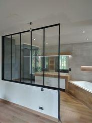 Perfect Cérame - Orvault - Salle de bain Haut de Gamme - Verrière