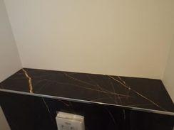 Perfect Cérame - WC Haut de Gamme - Bâti Wc avec carrelage grand format